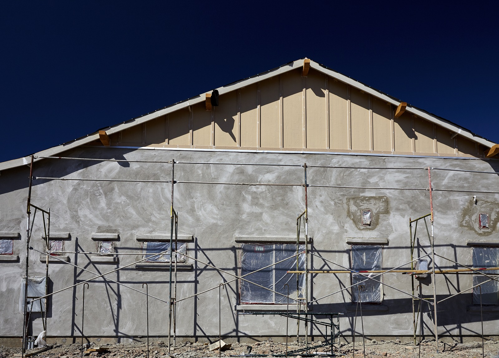 bigstock-New-Home-Construction-Stucco-P-136103216